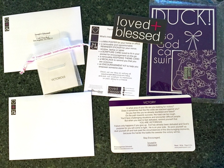 Love + Blessed Box July 2016 review