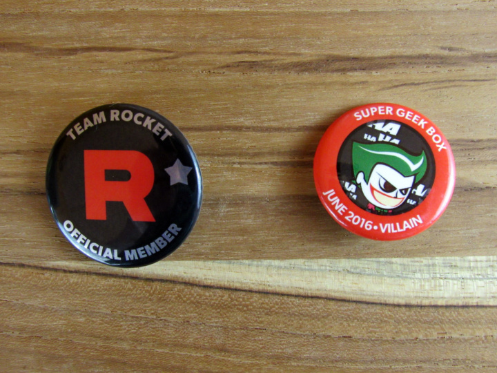 Rocket Member's Badge and Monthly Pin