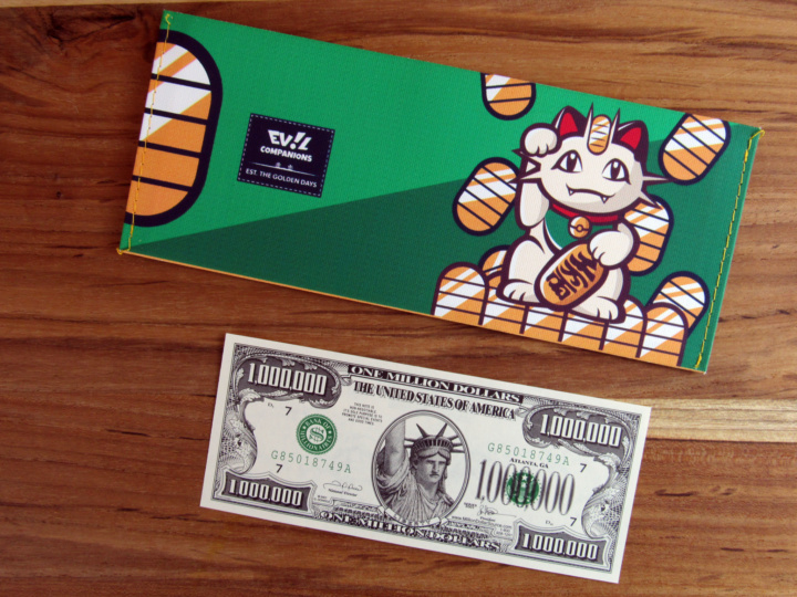 Evil Companions: Super Geek Box Exclusive Money Meowth: Pay Day Wallet