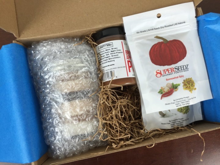 The Pumpkin Batch Box June 2016 unboxed