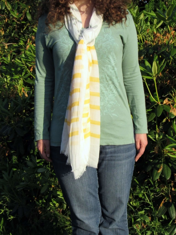 Brooke Scarf - Yellow