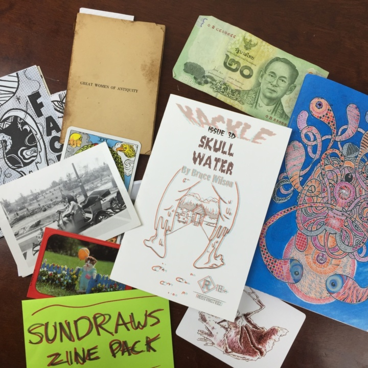 Zine-o-matic Box June 2016 review