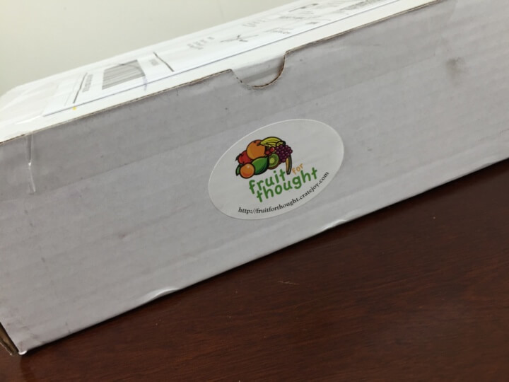 Fruit For Thought July-August 2016 box