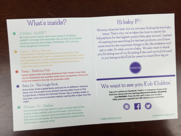 Kub Klub Box June 2016 (1)