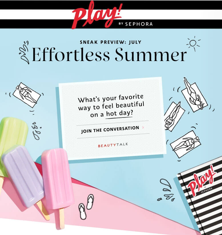 Effortless Summer | What's your favorite way to feel beautiful on a hot day?