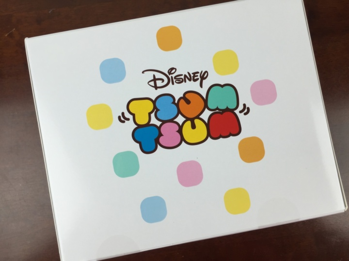 tsum tsum subscription box june 2016 box