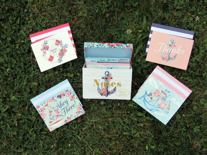 Lady Jayne Seaside Blooms Alll Occasion Notecards