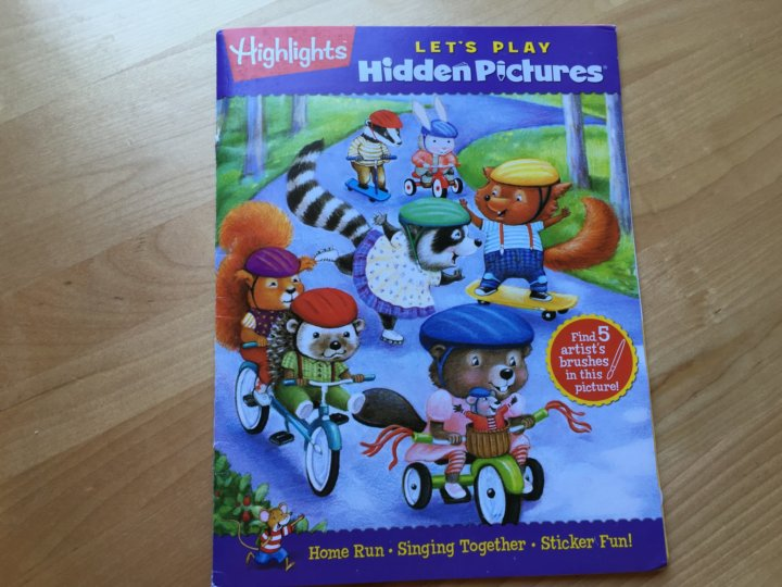 highlights hidden pictures club lets play book club is a monthly subscription geared toward 3 6 year olds that sends two activity books to your home each - Hidden Pictures For 3 Year Olds