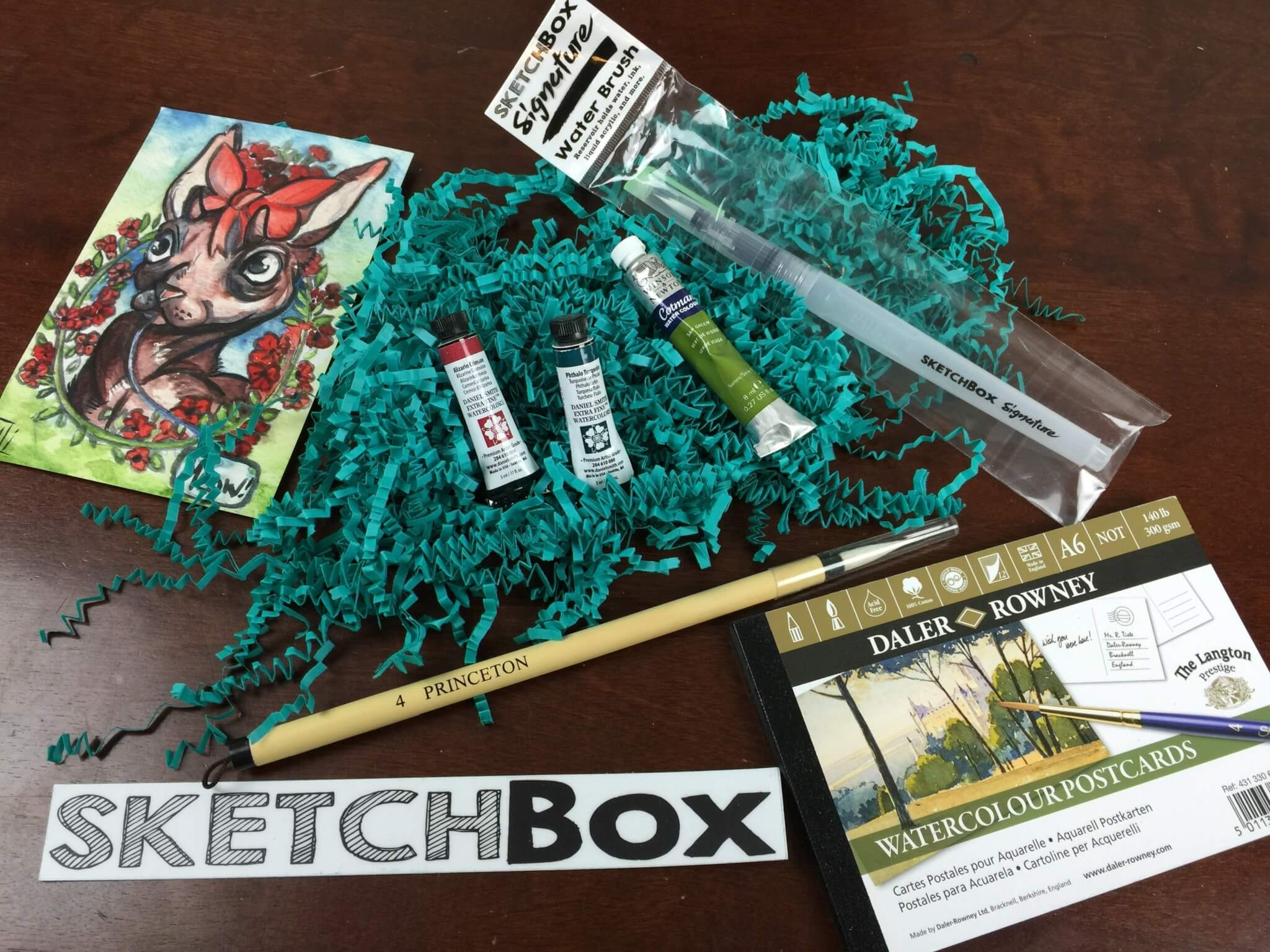 Sketchbox July 2016 Subscription Box Review Coupon