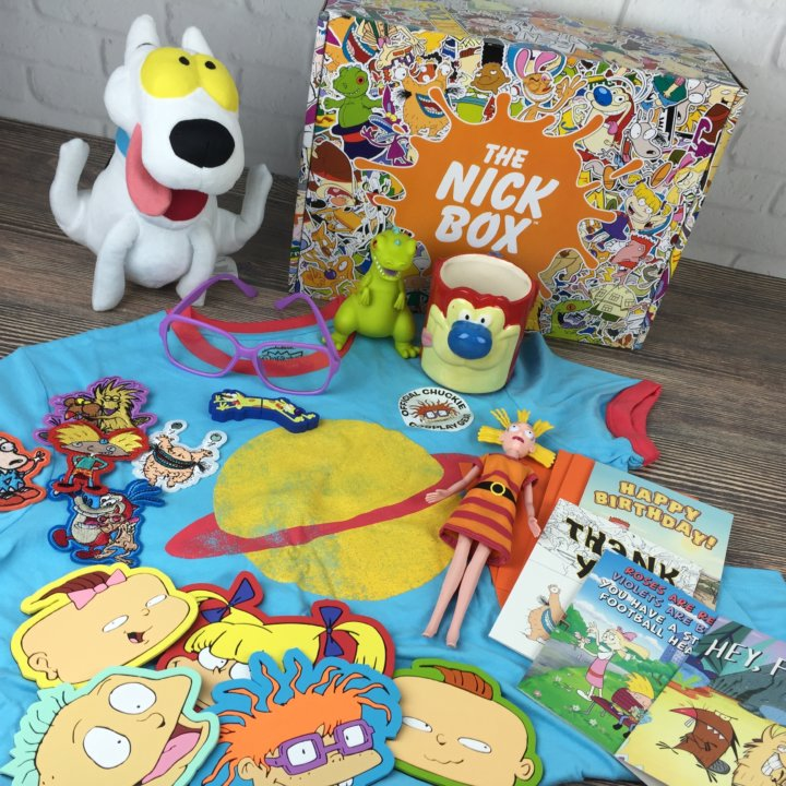 The Nick Box Summer 2016 Subscription Box Review Hello