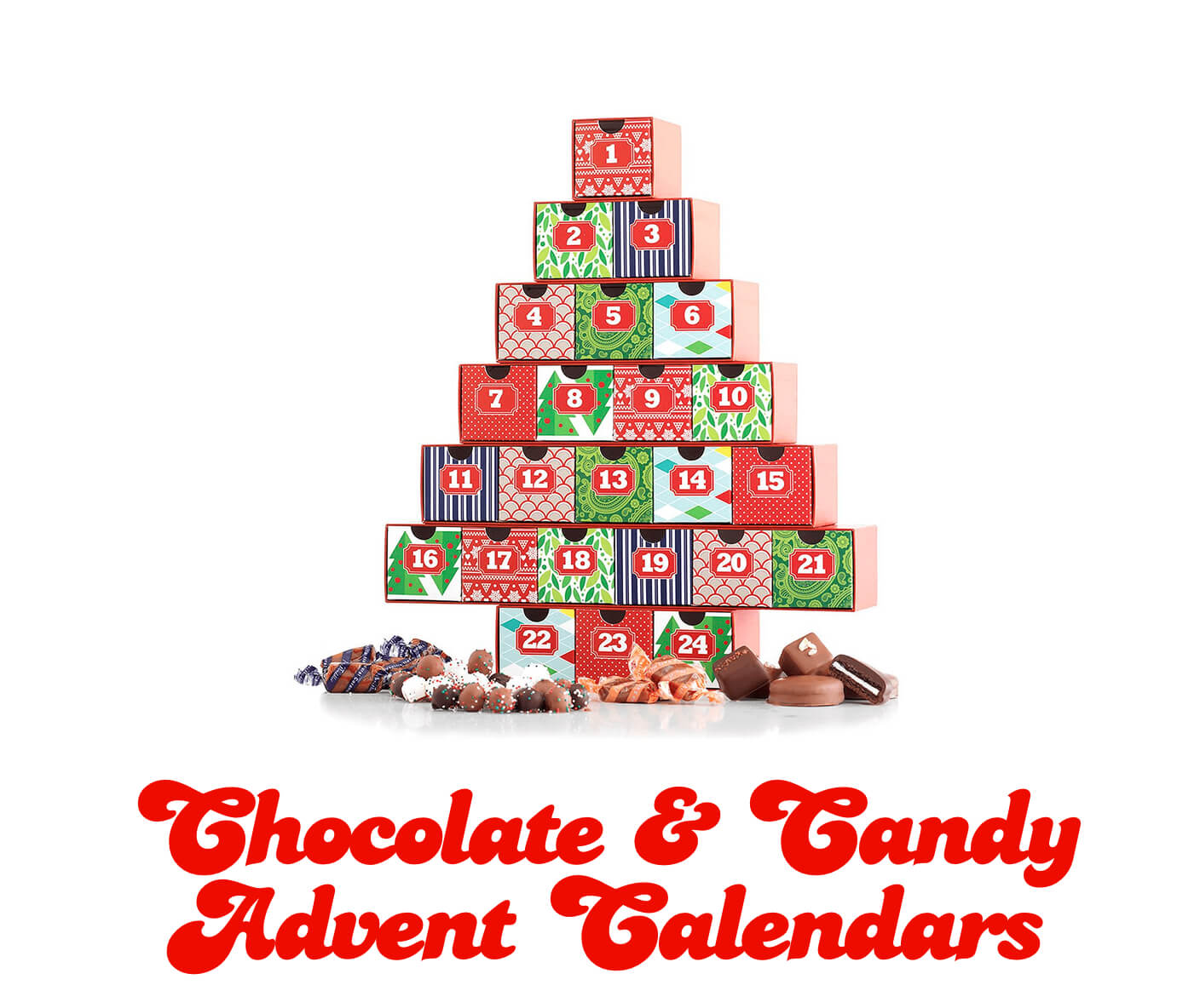 chocolate & candy advent calendars 2016