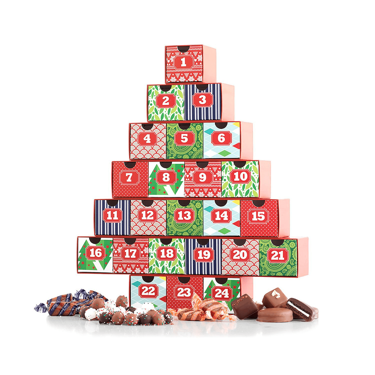 Advent Calendar Ideas Without Chocolate : Chocolate candy advent calendars for a sweet