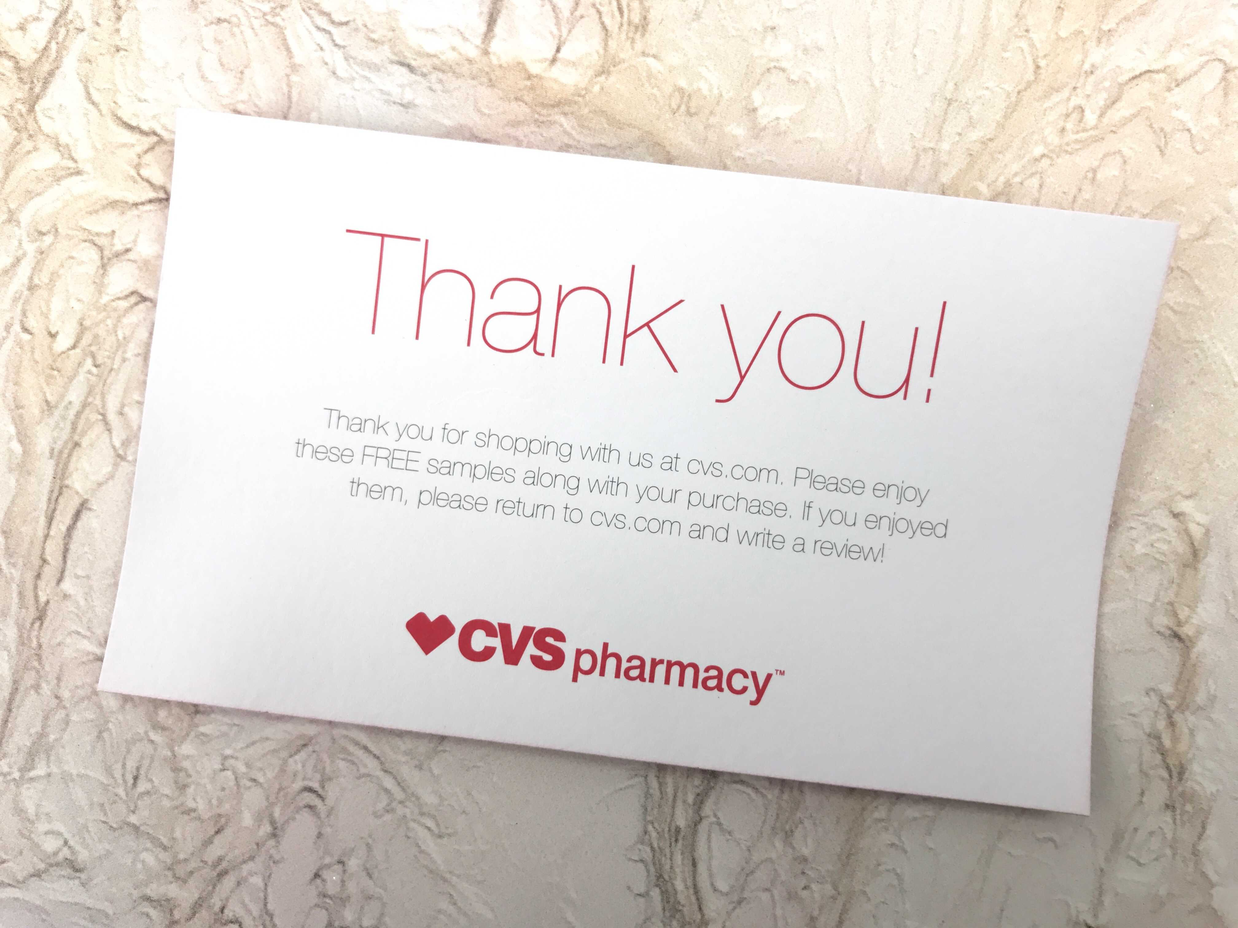 cvs sample pack review - december 2016