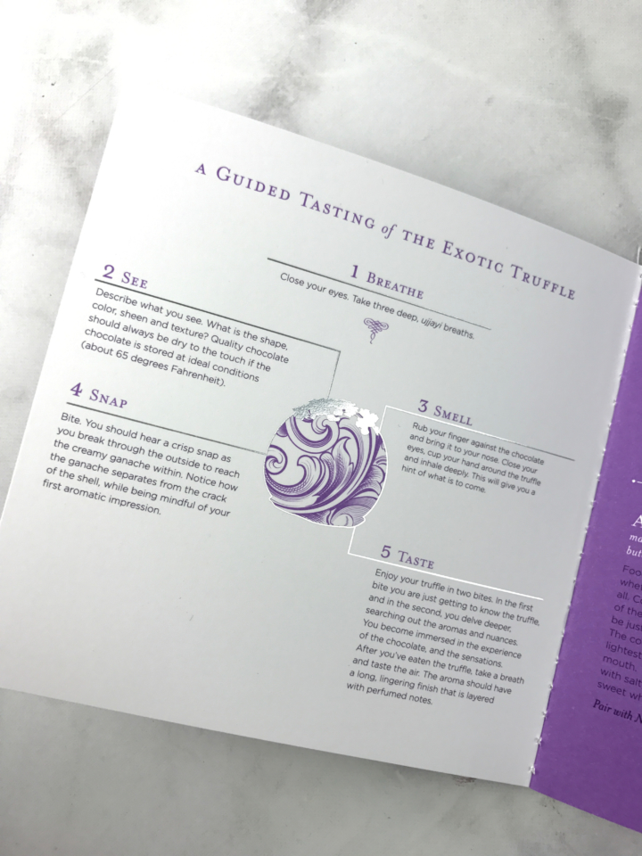 Vosges Exotic Truffle Collection Wild Ophelia Sample Set Review