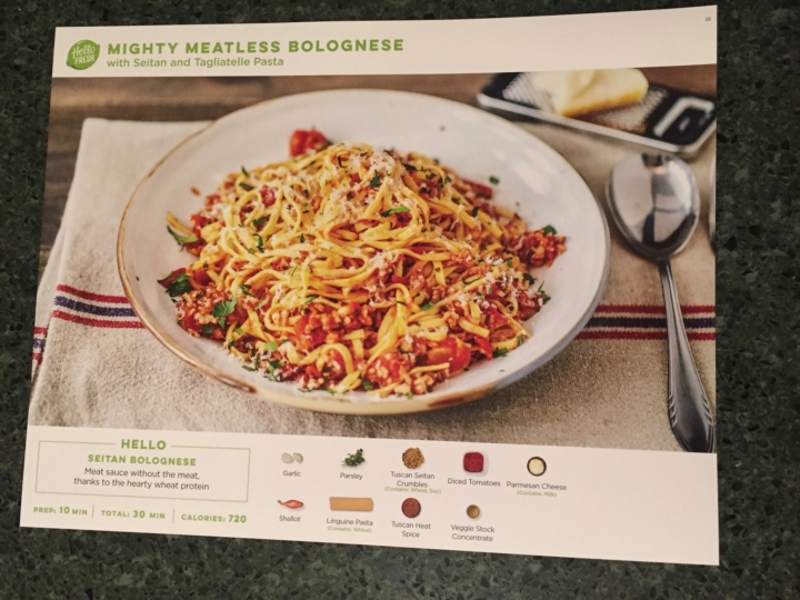 Hello Fresh Vegetarian March 2017 Subscription Box Review Coupon Hello Subscription
