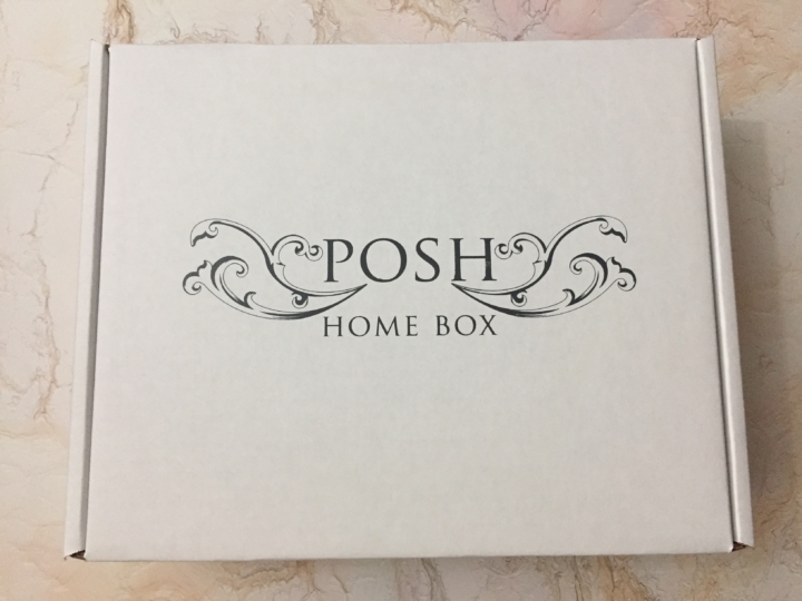 Posh home box february 2017 subscription box review for Home subscription box