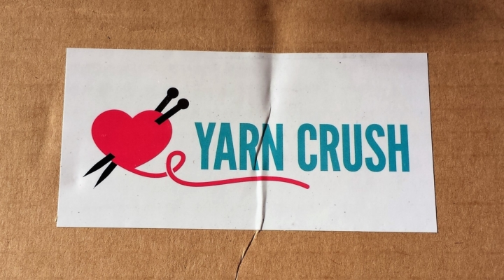 yarn crush subscription box review coupon february 2017 hello subscription. Black Bedroom Furniture Sets. Home Design Ideas