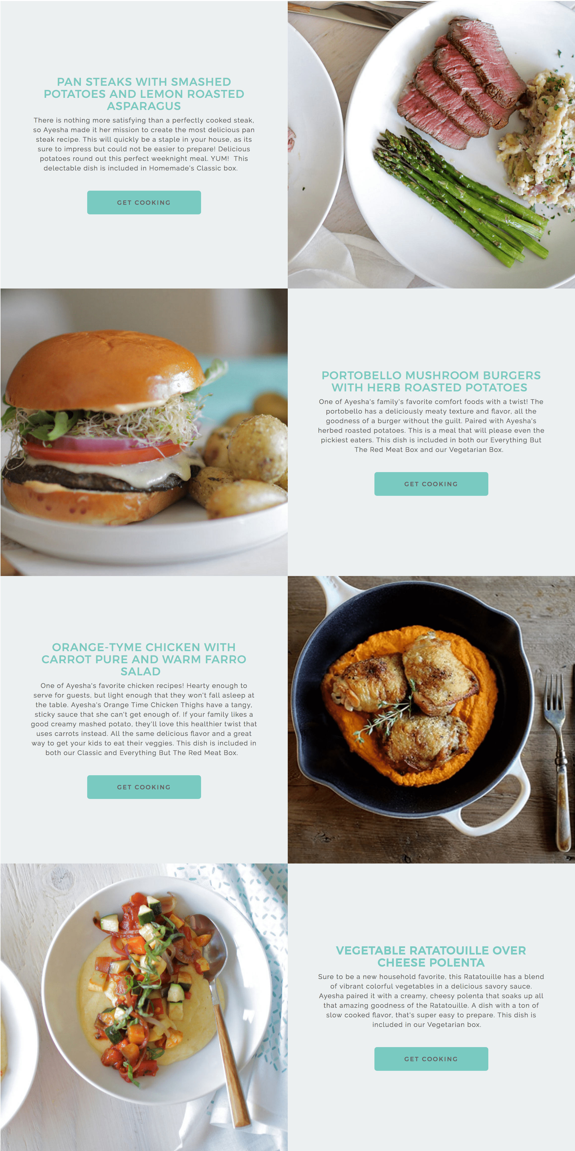 New Subscription Box: Ayesha Curry\'s Cook Homemade Weekly Dinner Kit ...