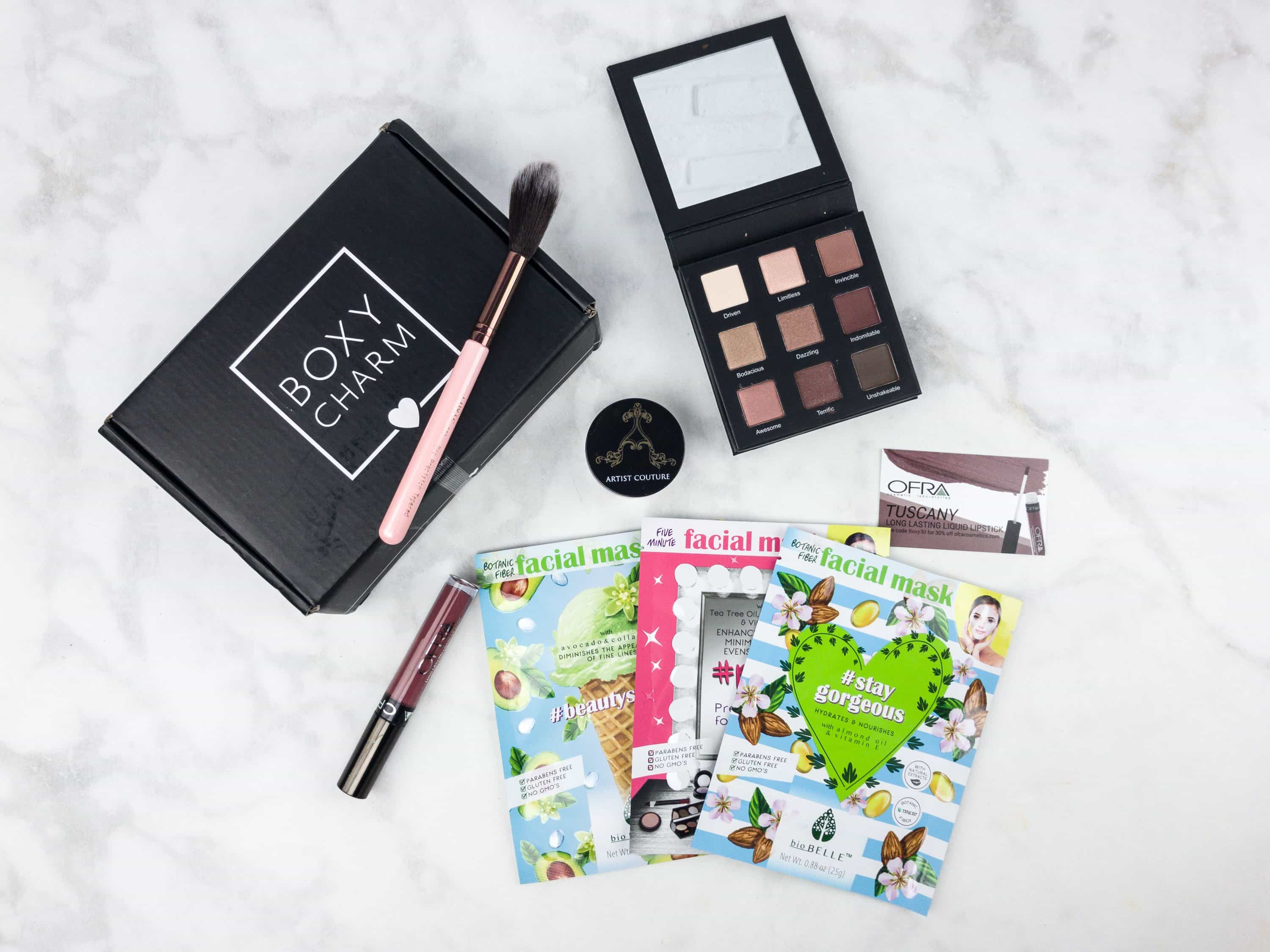 Boxycharm June 2017 Subscription Box Review Hello