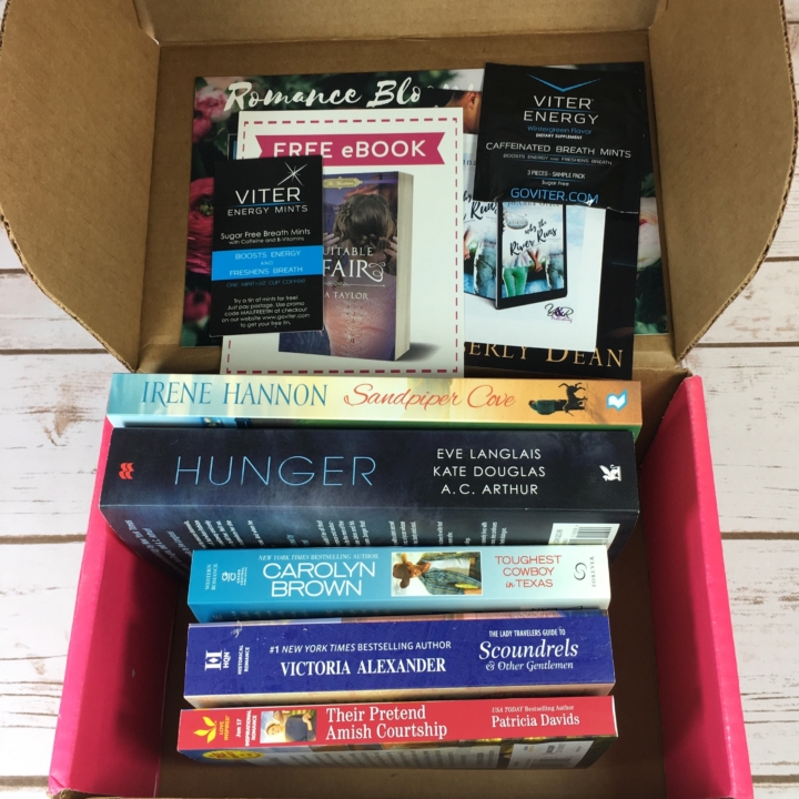 Fresh fiction box june 2017 subscription box review coupon hello im always surprised at how heavy this box is when i pull it out of the mailbox i received 5 paperbacks codes for 3 ebookssome mints and a couple of fandeluxe Gallery