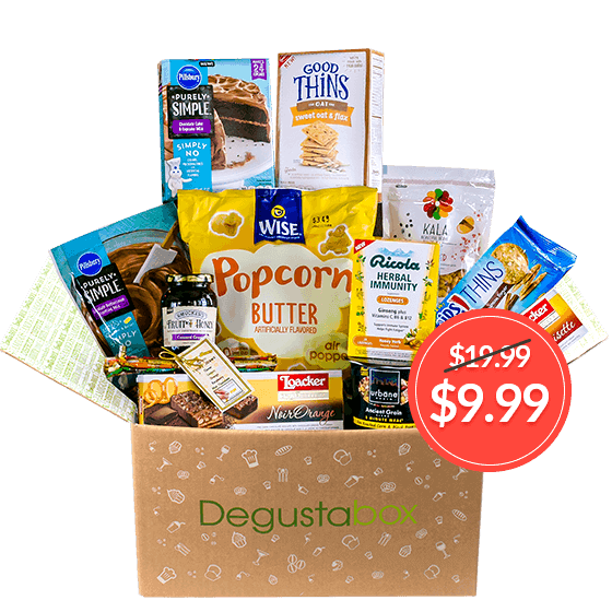 Degustabox 50 off coupon free gift in first box daves we have a new coupon code for degustabox to save 50 on your first month which will be 999 when you use the code hellosubscription when you checkout to negle Image collections