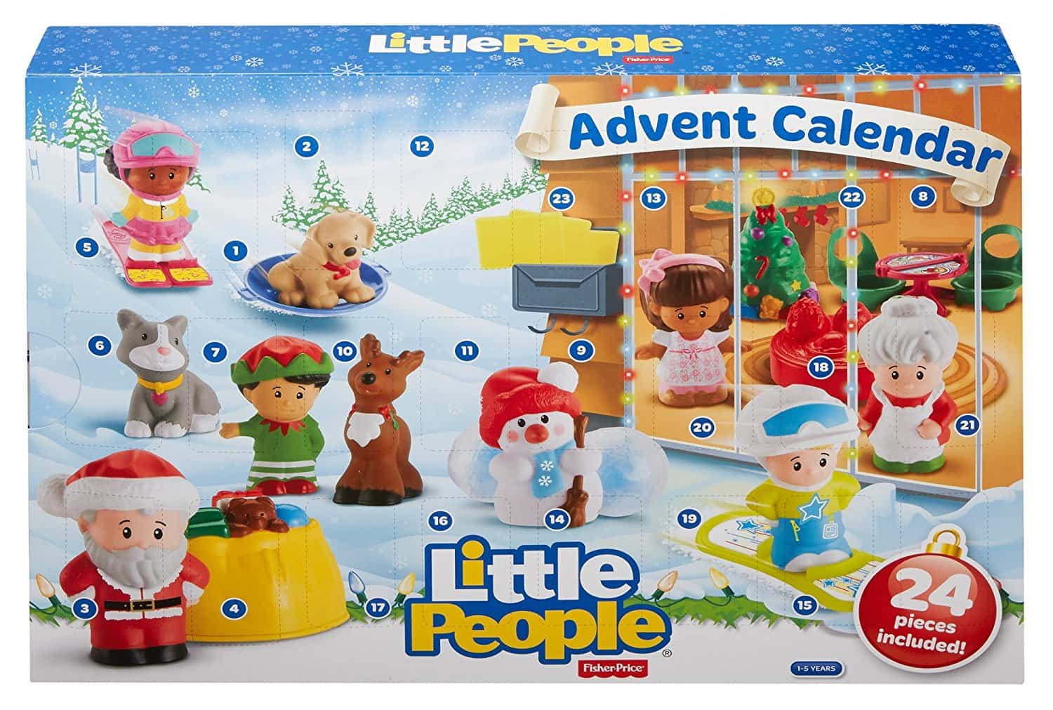 Little people 2017 advent calendar price drop to 12 hello fisher price little people 2017 advent calendars are available now theyre 3499 at amazon and there looks to be no changes from last years calendar buycottarizona