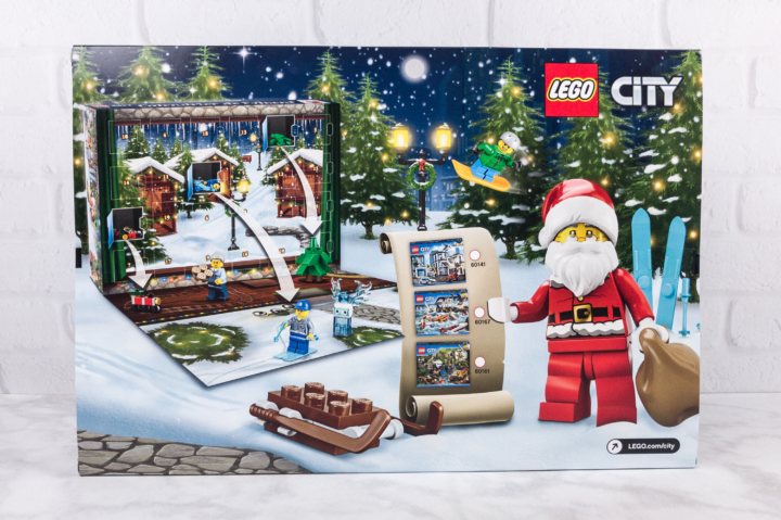 Lego City Advent Calendar 2017 Mini Review - hello subscription