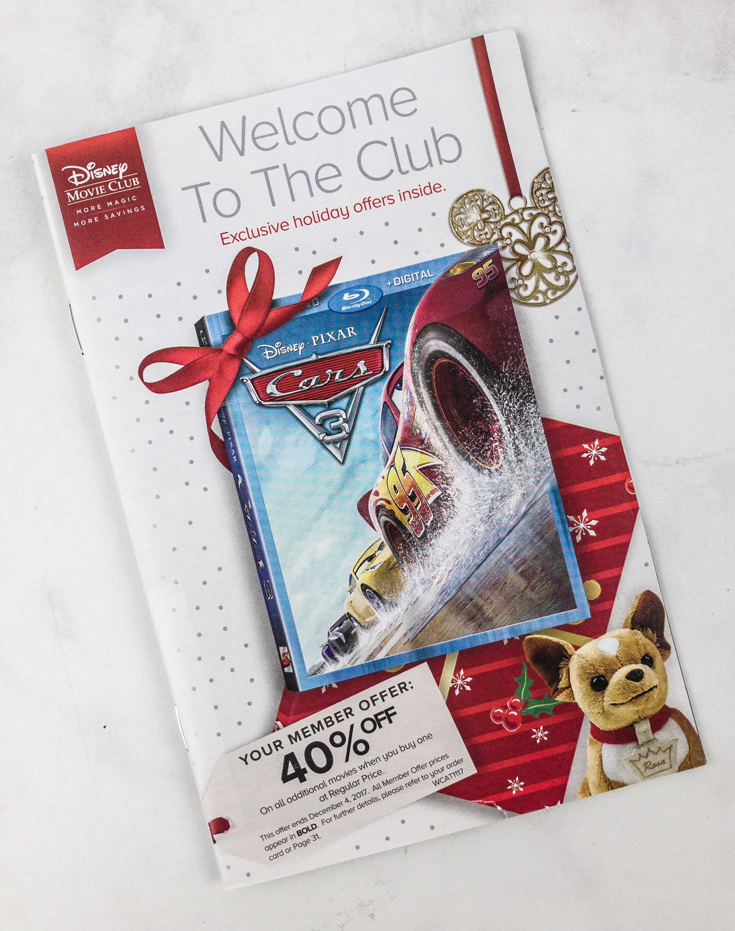 Disney Movie Club Introductory Fer Review Hello