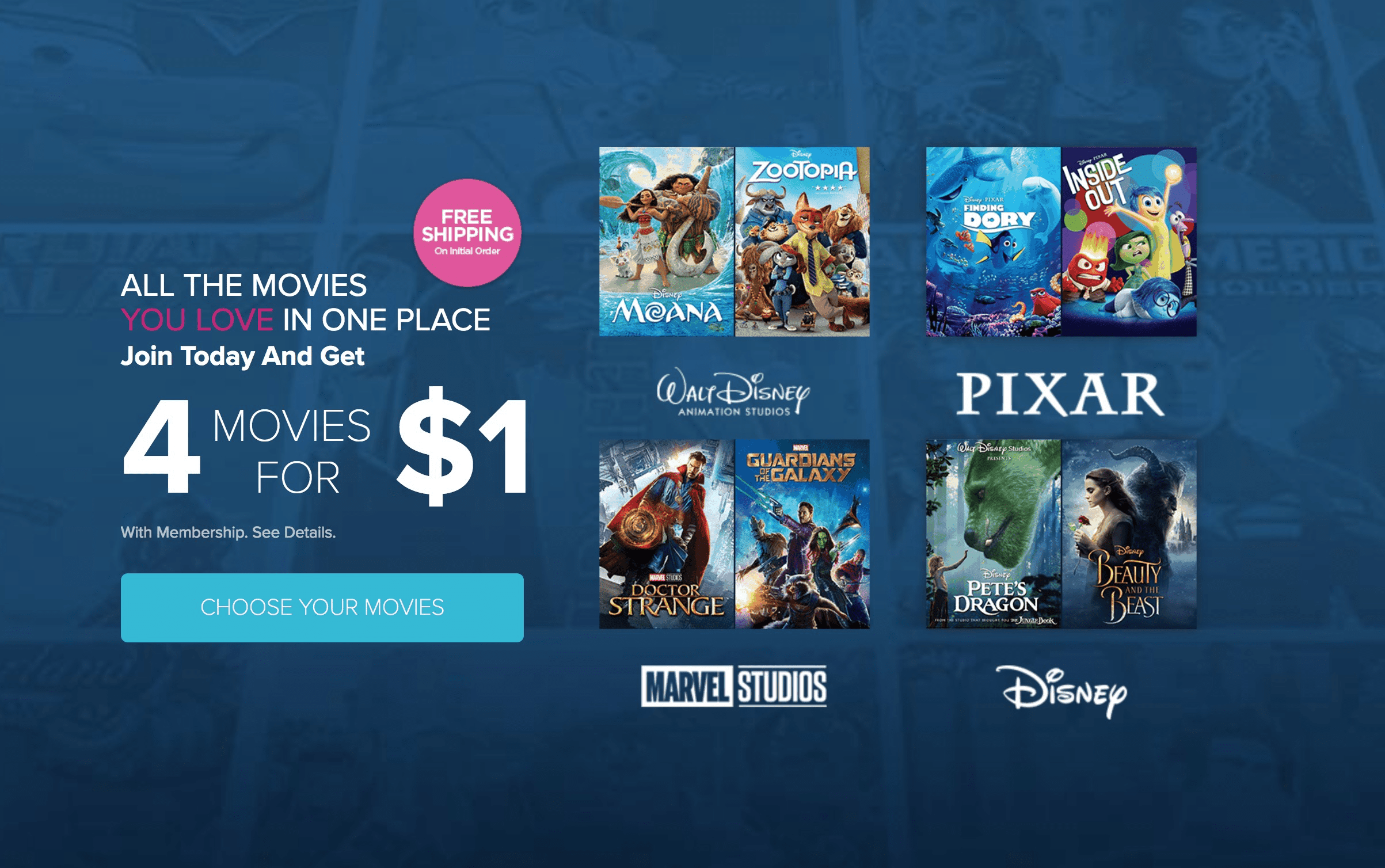 Free subscription boxes cheap monthly subscriptions more 21 disney movie club fandeluxe Choice Image