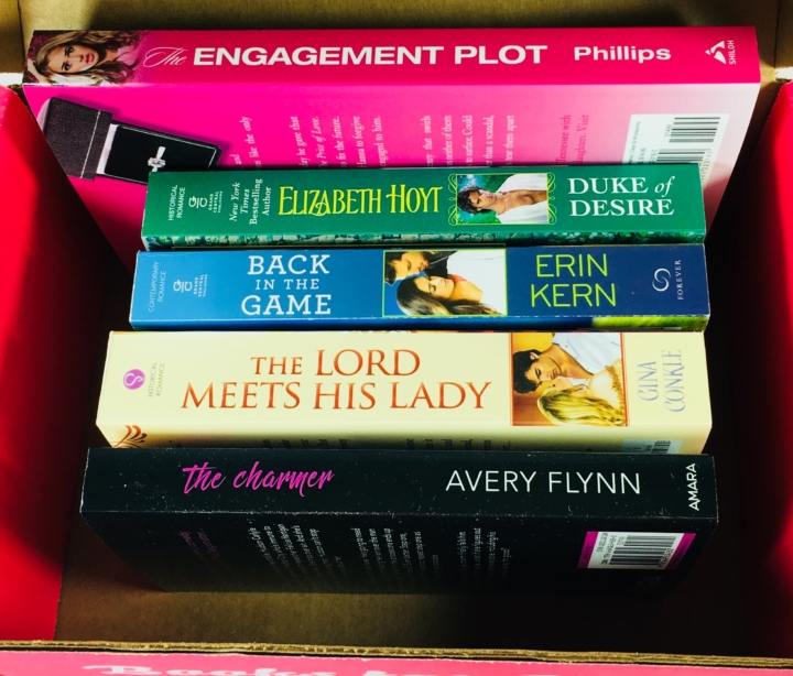 Fresh fiction box december 2017 subscription box review coupon i received 5 paperbacks and codes for 3 e books plus a couple of inserts which i will describe below fresh fiction sends different box variations each fandeluxe Gallery