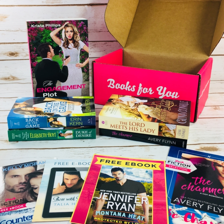 Fresh fiction box december 2017 subscription box review coupon also i have been getting this box for over a year now and have always received at least 4 print books each time fandeluxe Gallery