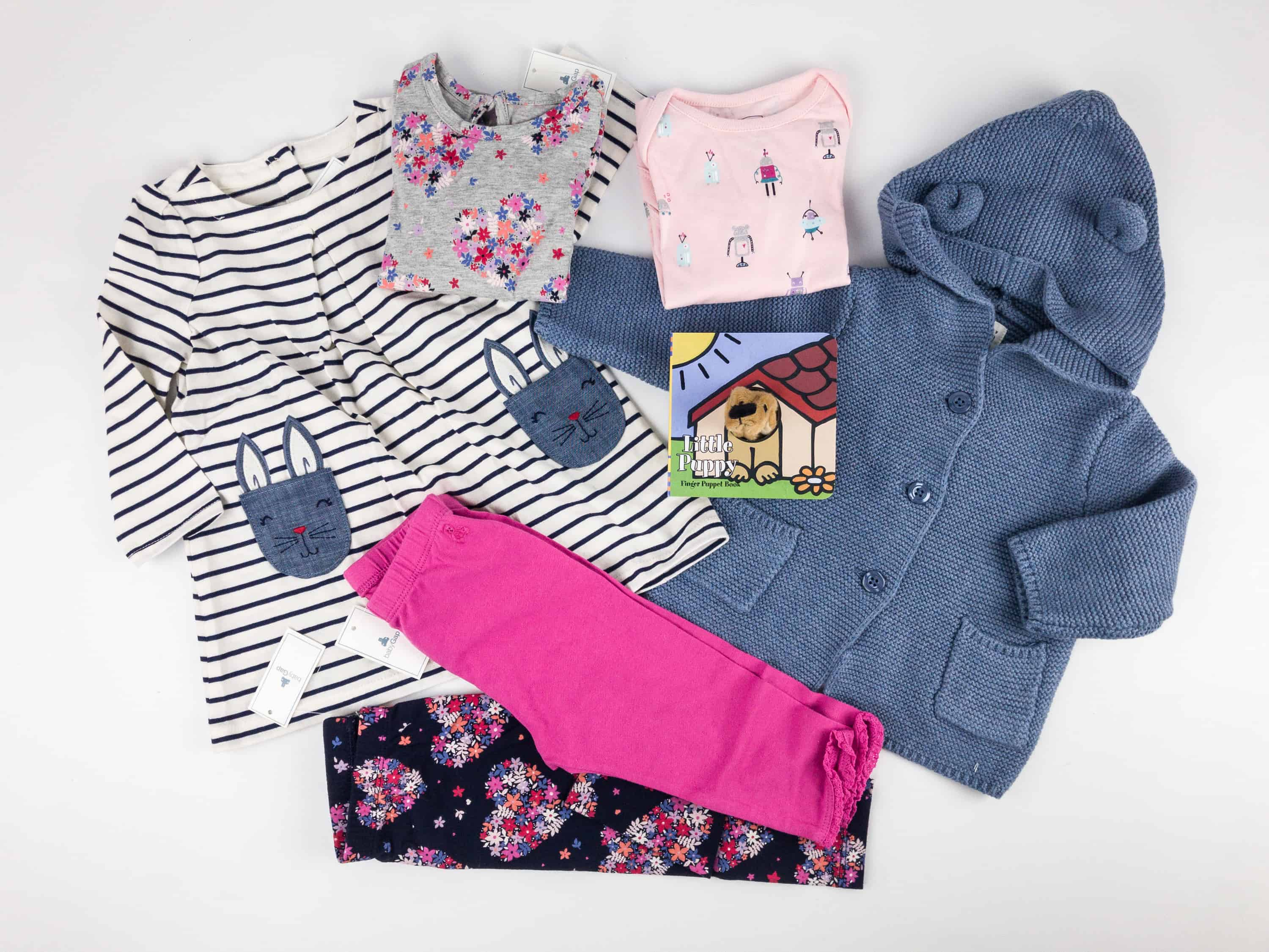 babyGap OutfitBox Winter 2017 Subscription Box Review hello