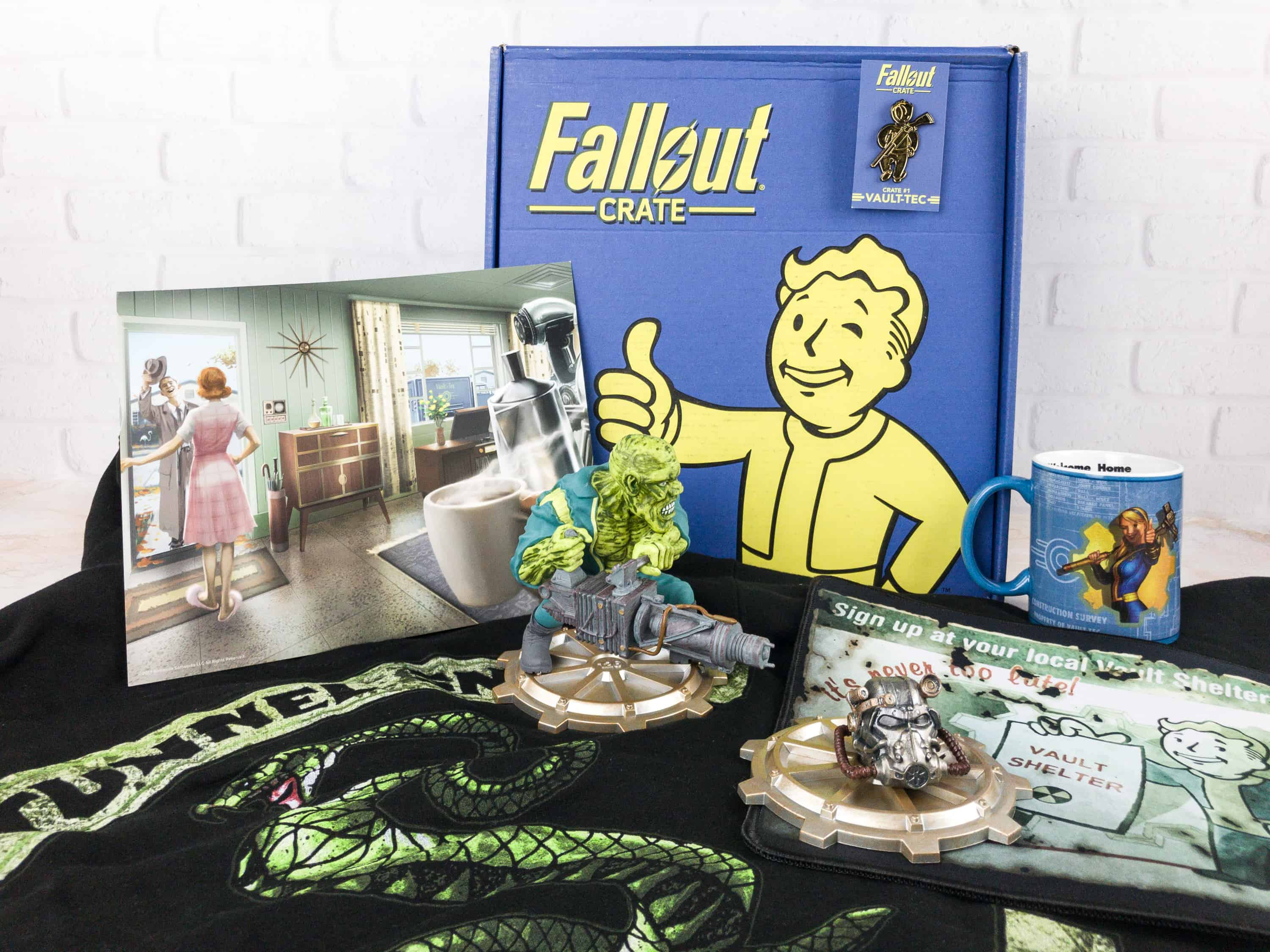Loot Crate Fallout Crate December 2017 Review Coupon
