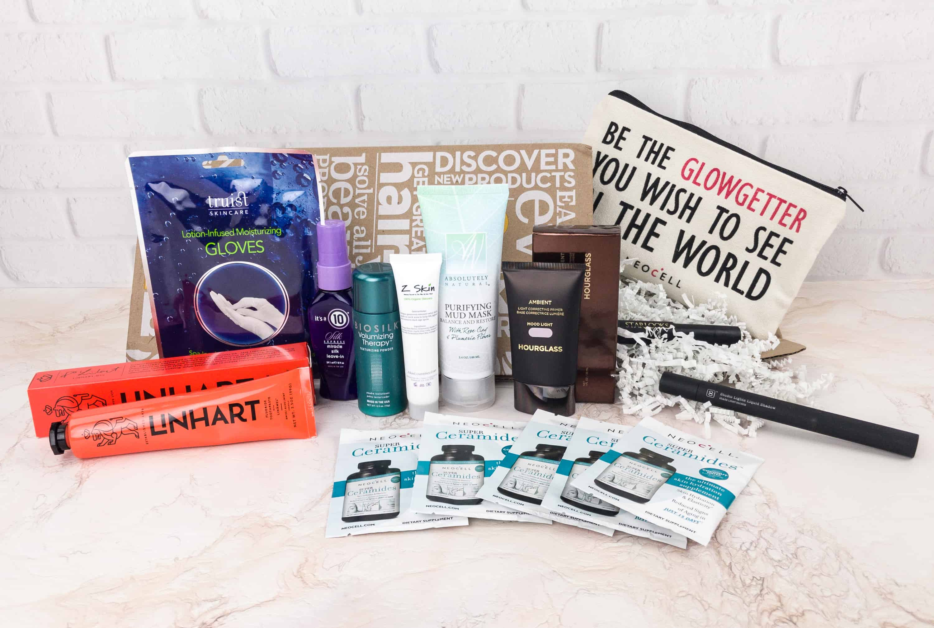 Everything in my box! NBTT promises 10 or more full-sized and deluxe sample-sized products and at least $150 value.