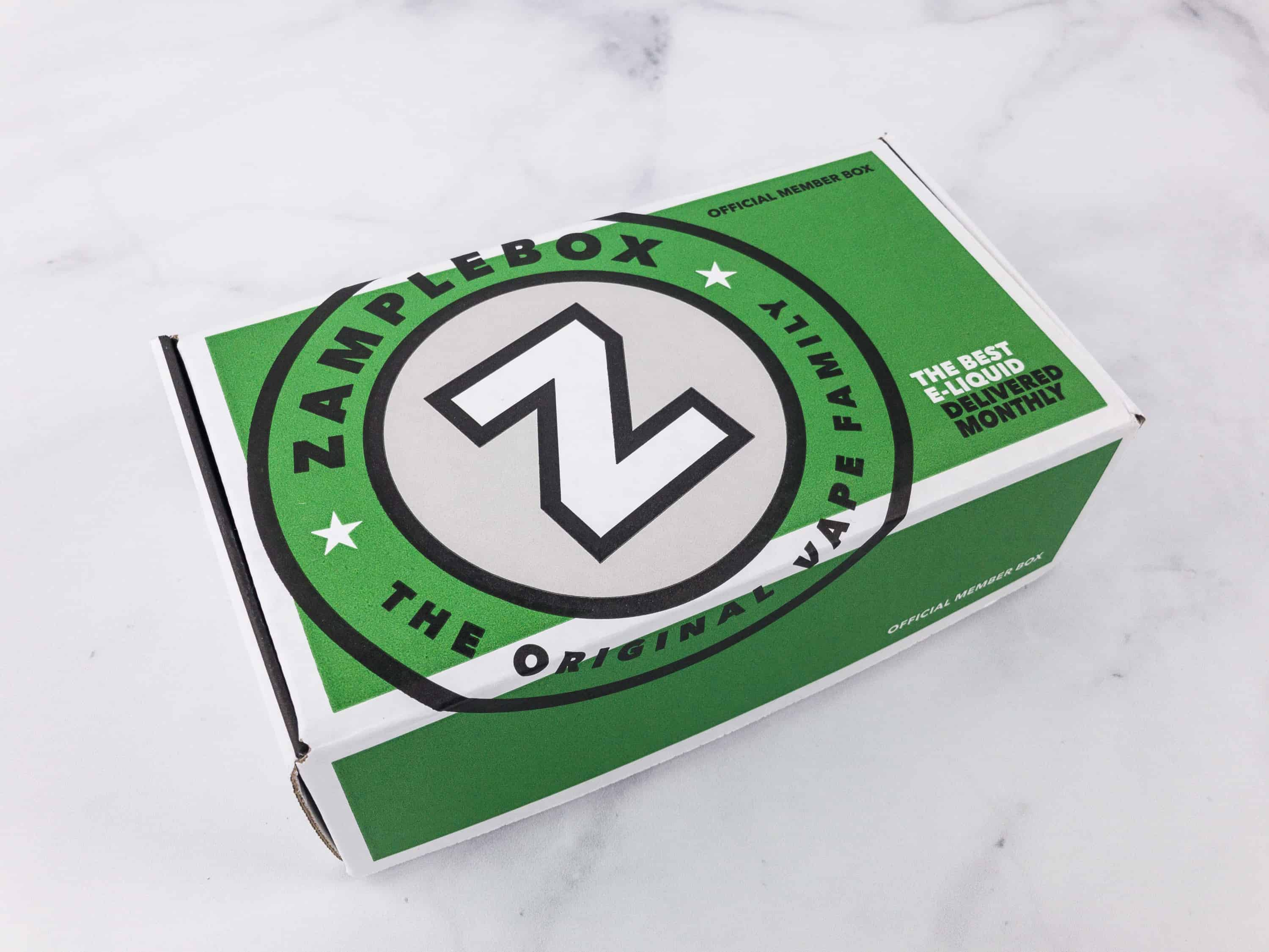 Zamplebox coupon march 2018