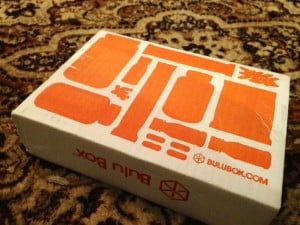 January 2013 Bulu Box Subscription Box Review