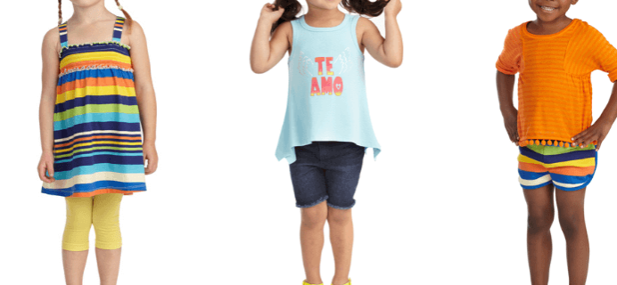 March FabKids available now! 50% off your first outfit.