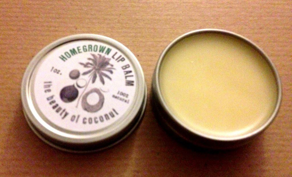 homegrown collective july lip balm