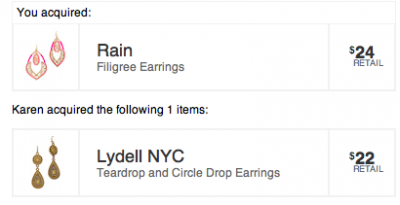little black bag lydell earrings for rain earrings