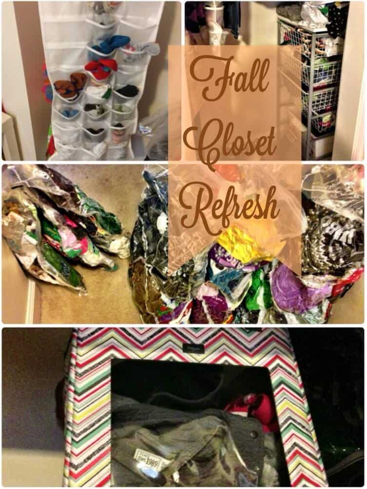 Organizing & Refreshing Little Closets in Small Spaces!