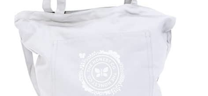 New Honest Company Products – Tote Bag & Glass Cleaner