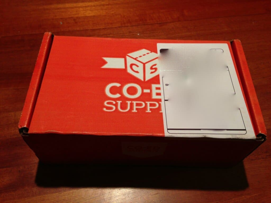 September Co Ed Supply Review   College Student Subscription Box photo