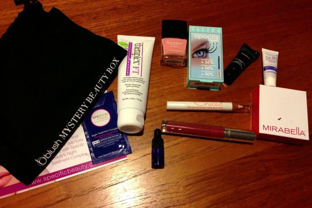 October Blush Mystery Beauty Box Review