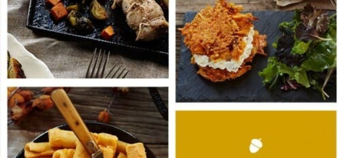 Easy Peasy Thanksgiving with Plated.com – New Menu! Plus Free Plates for New Customers!