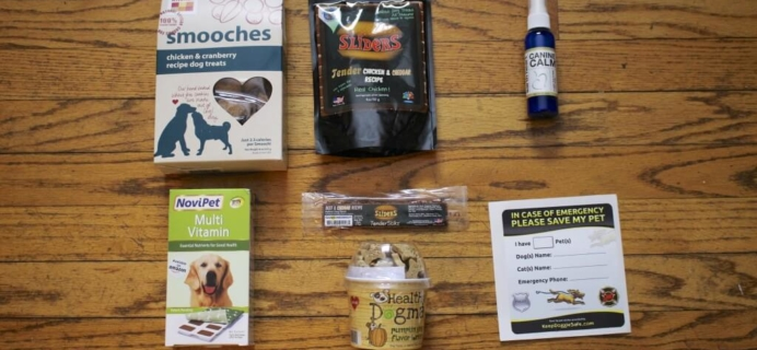 December PetBox Review – Cat + Dog Subscription Box