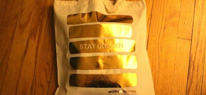 Golden Tote Review – $49 Tote December 2013