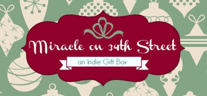 Indie Gift Box Coupon + limited edition Box