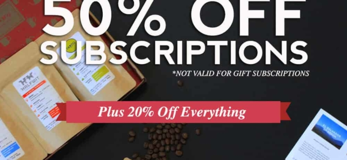 MistoBox Coffee Subscription Cyber Monday Coupon