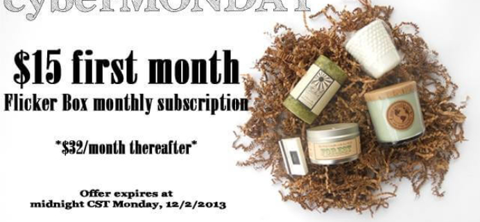 Flicker Box Cyber Monday Deal