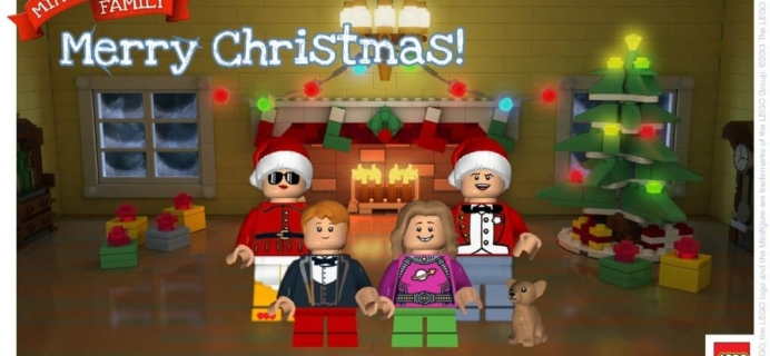 Minifig your Holiday with a LEGO postcard!